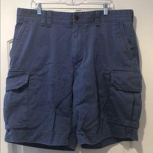 Blue polo Ralph Lauren cargo shorts